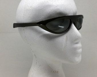 4e703f1c2034 Vintage 1960s Polaroid Cool-Ray Cari Michelle wrap-around mod sunglasses,  greenish bronze metallic finish