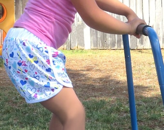 Down Syndrome Awareness Shorts, Girls Down Syndrome Shorts, Girls Down Syndrome Awareness Shorts, Short Shorts, Down Syndrome Shorts