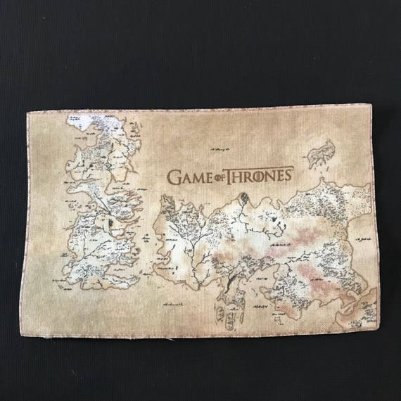 Game of Thrones Map iron on appliqué Large iron on patch Game Of Thrones Map Large on game of thrones maps hbo, united states map large, game of thrones castle names, game of thrones westeros, game of thrones chart, game of thrones dragon symbol, game of thrones narrow sea, earthsea map large, game of thrones house wallpapers, game of thrones house symbols, game of thrones clan names, game of thrones you rock,