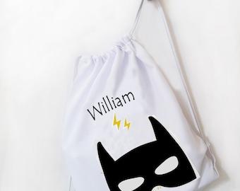 Children's Bag - Kid's Bag - Personalized Bag - PE Bag - BackPack Bag - Kid's Drawstring Bag - Name Bag - Nursery Bag - Swim Bag - Shoe Bag