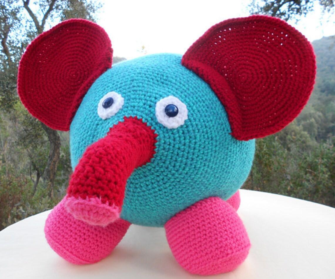 Crochet pattern Gigant Elephant / haakpatroon