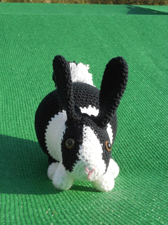 Crochet Pattern Rabbit Langoor And Baby Langoor Haakpatroon Etsy