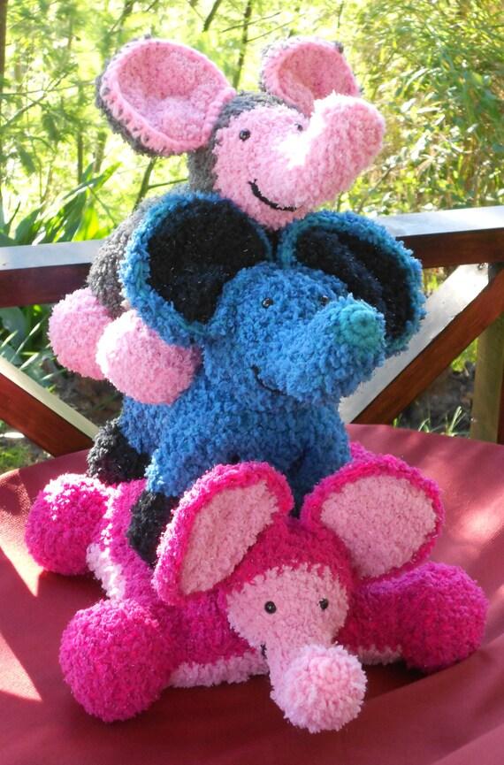 Crochet Patterns Pillow Pets Flat A Pillow Upright A Toy Etsy