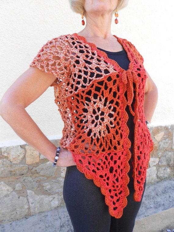Crochet Pattern Butterfly Cardigan Haakpatroon Vlindervestje Etsy