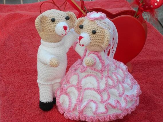 Tanz Hochzeit Bären und Tauben-häkeln Muster tanzen Hochzeit   Etsy