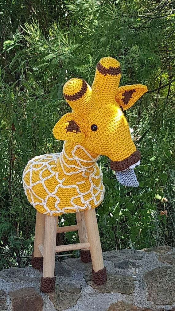 Reborn Baby Giraffe Stool Reborn Baby Giraf Kruk Direct Etsy