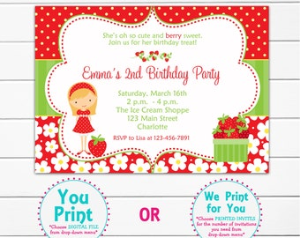 Burgers and fries birthday party invitation hamburger birthday etsy strawberry birthday party invitation strawberry girl strawberry party invitation strawberry birthday filmwisefo