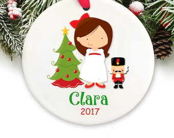 personalized christmas ornament personalized nutcracker christmas ornament gift box included - Nutcracker Christmas Ornaments