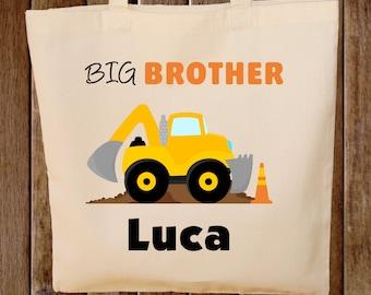 Big Brother Tote Bag Construction Bag Big Brother Bag