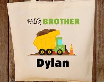 Big Brother Tote Bag Dump Truck Bag Big Brother Bag