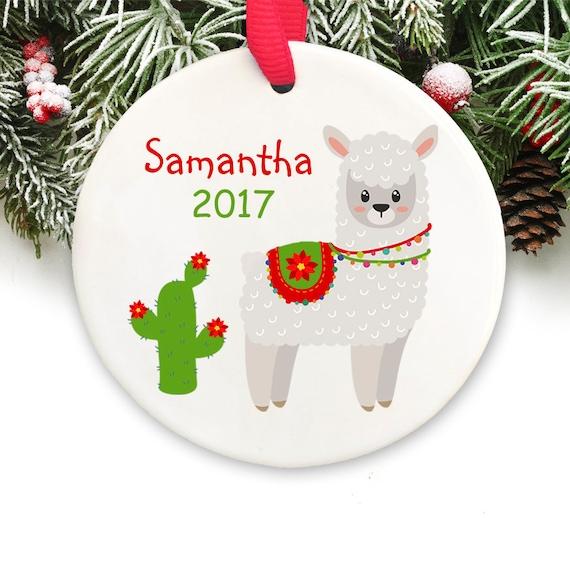 image 0 - Llama Christmas Decoration