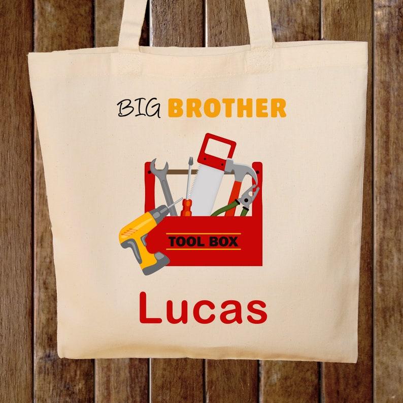 Big Brother Tote Bag Boys Tote Bag