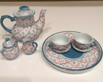 Childs Tea Set with Mini Book