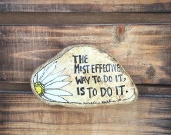 ArtRocks Stone, Painted Rock, Quote Rock, Motivational stone