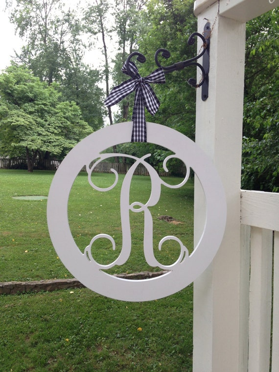 Hand painted wood monogram, Wood monogram, Wedding gift monogram, Dorm monogram, Monogram sign, monogram door hanger, monogram wall hanging