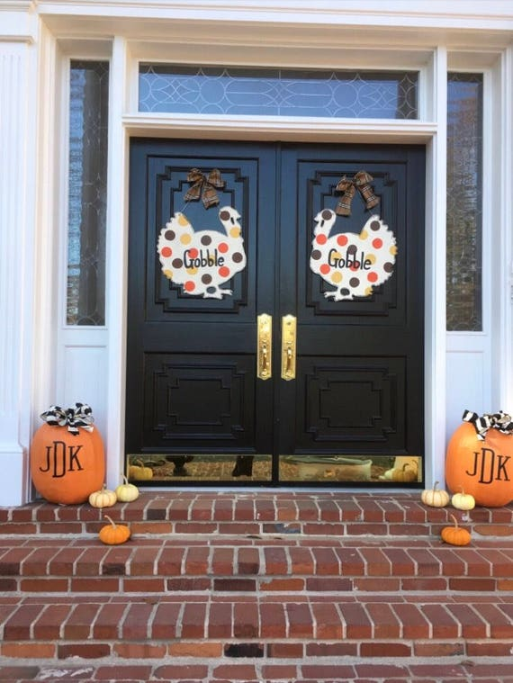 Thanksgiving Turkey door hanger, fall door hanger, turkey door hanger, Thanksgiving decor, turkey decorations