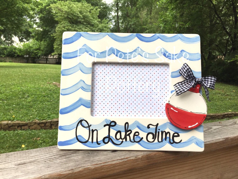 Lake theme picture frame, River theme picture frame, Lake frame ...