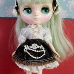 Middie Blythe Vintage Mori Lolita Shirt and Skirt Set