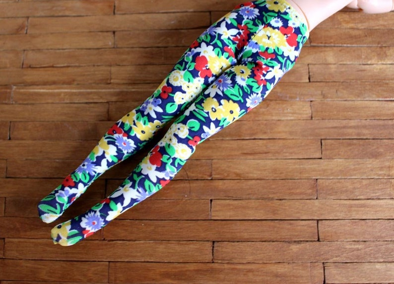 Blythe Licca Liberty London fabric flowers tights image 0