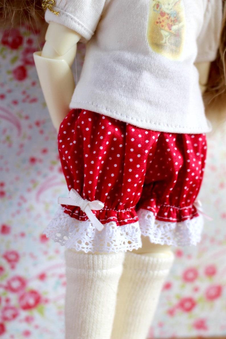 YOSD Littlefee red polkadots bloomers image 0
