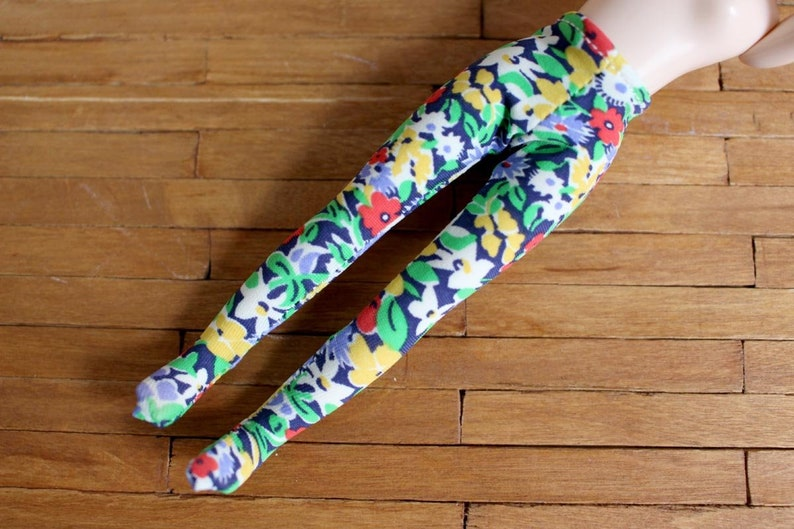 Middie Blythe Liberty London fabric flowers tights image 0