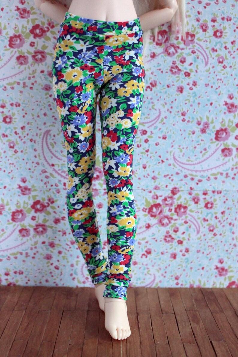 MSD Minifee Unoa flower print leggings image 0