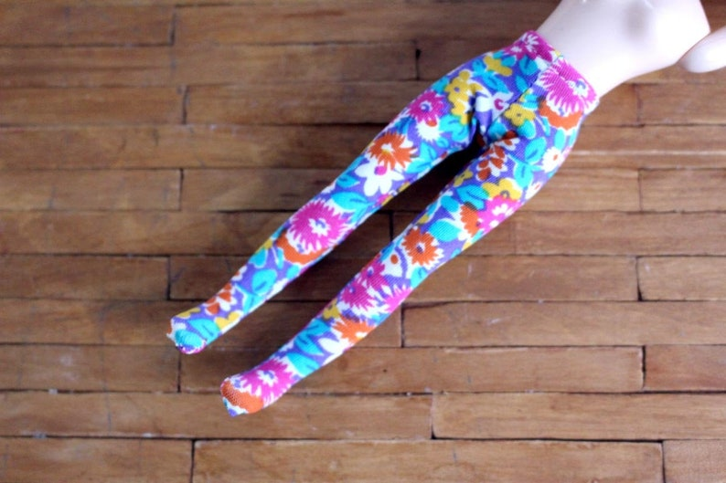 Middie Blythe Liberty London fabric flowers tights PiNK image 0
