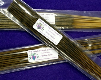 Lavender Scent Incense Sticks, Hand dipped, Made to order for freshness