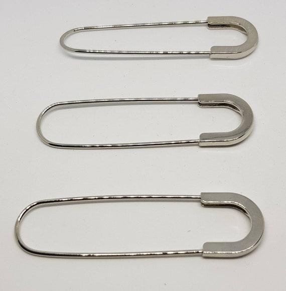 UK Handmade eco silver shawl pin scarf pin or brooch
