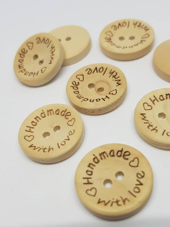 20 Coconut Delicate Natural Shell Buttons 20mm Sewing crafts accessories Free P/&