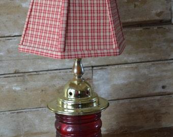 Railroad lamp etsy vintage lamp retro style railroad table lamp aloadofball Choice Image