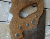 Vintage Wooden Hand Saw From the 1950 39 s or Earlier Craftsman