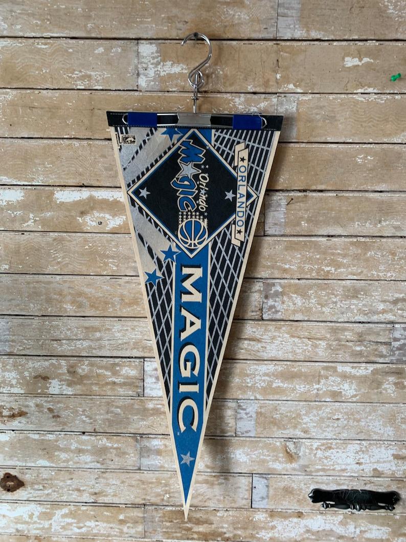 Vintage OrlandoMagic Wincraft Pennant Banner Lovely