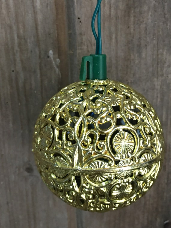 image 0 - Vintage Gold Chirping Bird Christmas Ornament 3 Chirp-ee Etsy