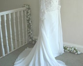 ON SALE 'Betty D' Handmade Vintage Style Reception Bridal Gown