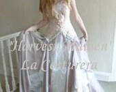 Harvest Maiden- Handmade Alternative Custom Bridal Gown Dress
