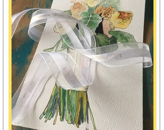 GIFT CARD for a Wedding Bouquet