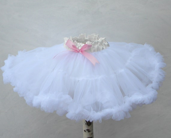 Cotton 12 yard Maxico Ruffle Skirt with Satin Ribbon Special Order