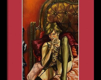 The Red Room (Unframed) Print