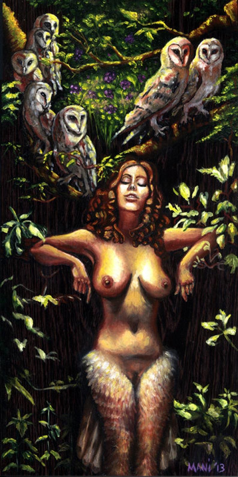Lilith under the Huluppu Tree image 0