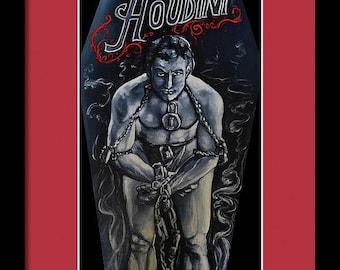 Harry Houdini (Unframed) Print