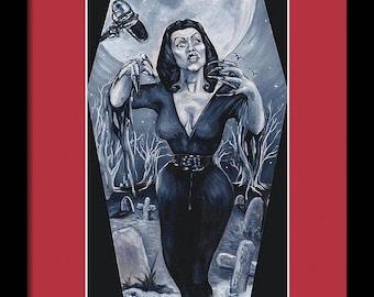 Vampira (Unframed) Print