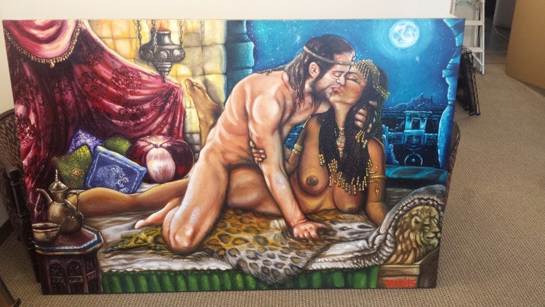 King Solomon and the Queen of Sheba image 0