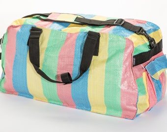 86c54f381a69 Recycled duffle bag