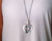 Heart Necklace, Pendant N...