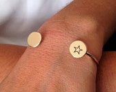 Personalized cuff, Engrav...