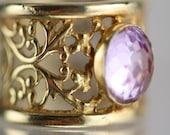 Gold Plated Princess Ring...