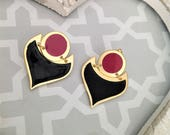 Enamel Earrings, Women&#3...