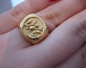 Signet ring, Butterfly Ri...