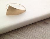 Geometric Bracelet, Gold ...